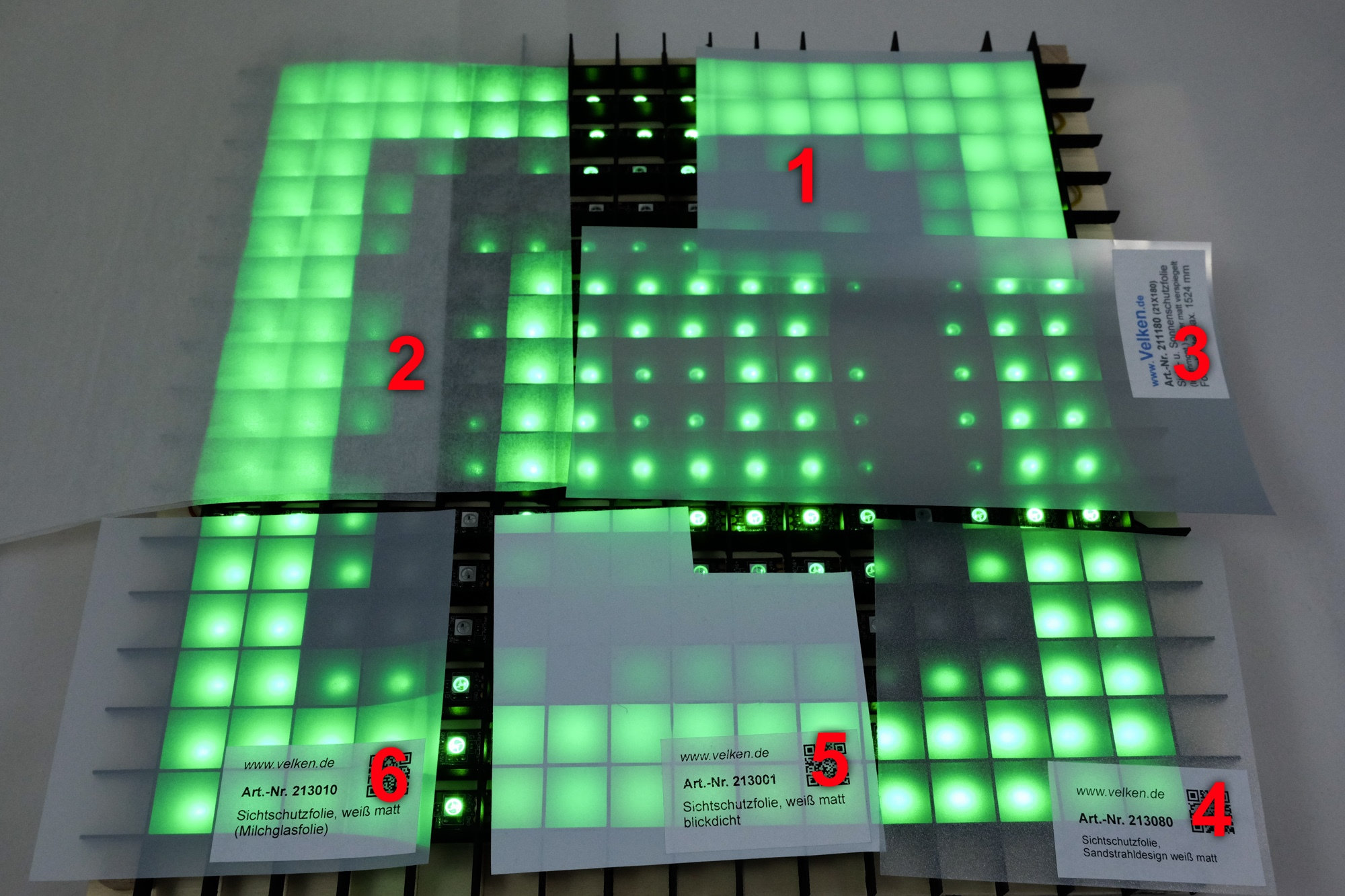 LED Matrix Materials Guide | Marian's Blog