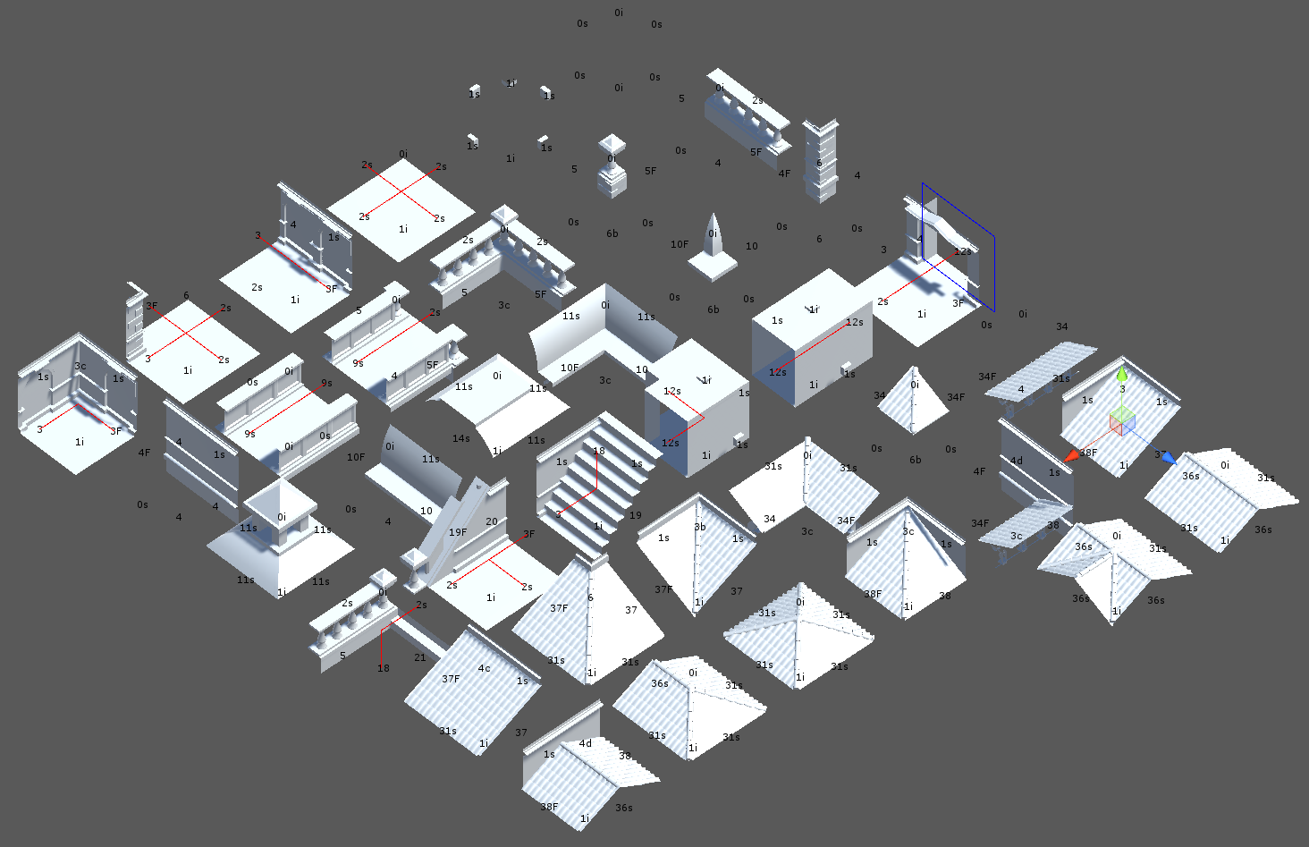 Infinite procedurally generated city with the Wave Function Collapse